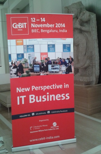 Announcing CeBIT 2014 Bangalore