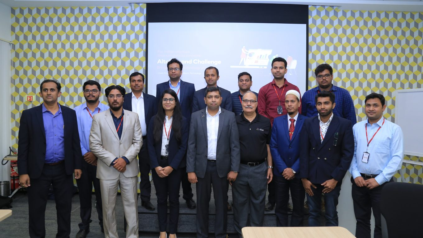 Altair Startup India Challenge - Group Photo